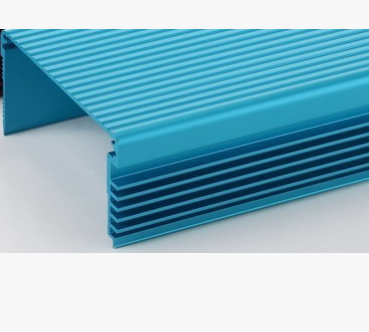 6000系列纯铝氧化蓝色金色银色等铝挤压工业型材