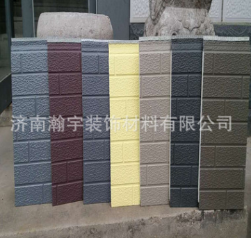 生产金属面保温装饰板 外墙式保温装饰板 新型防火保温金属雕花板