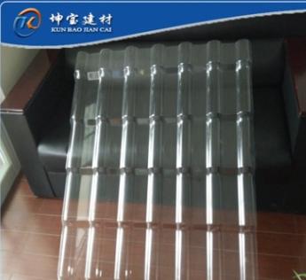 树脂瓦配件PC采光瓦 合成树脂透明亮瓦 防腐阻燃阳光板塑料瓦片