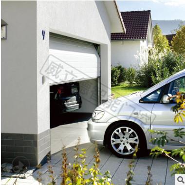 德国索玛车库门电机 sommer别墅电动分节式翻板开门机 APERTO