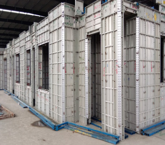 厂家优惠租赁铝合金建筑模板 建筑墙体水平铝模板 定制铝合金模板