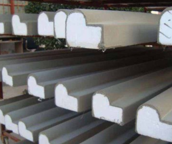 别墅窗套线条 厂家生产真石漆面EPS装饰线条彩色檐口线脚