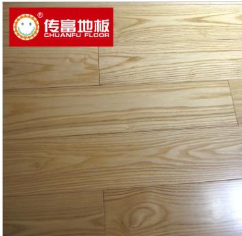 白腊木实木地板 水曲柳 910x125x18 本色耐磨