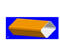 pvc落水系统 pvc彩色檐沟 pvc彩色天沟