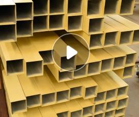 厂家直销铝型材方管 6063铝管定制木纹铝合金方管 铝方管