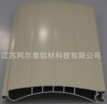 供应卷帘门专用铝合金型材 波纹卷门片系列铝材