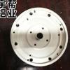 日光灯平板灯灯管圆形散热器铝型材 高强度大功率6063灯饰铝型材