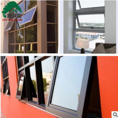隔音强力窗铝合金悬窗 上悬窗 中悬窗 下悬窗 可选凤铝