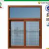 【门窗定制】高档铝合金阳台推拉窗防蚊窗户复合防盗进口配件