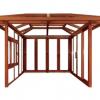 【佛山地区】铝合金型材阳光房 活动板房 钢化玻璃房屋 整套销售