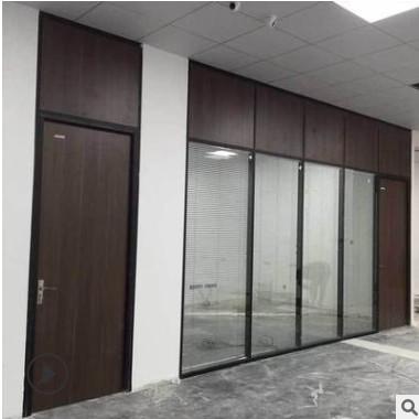 厂家直销 办公室隔音玻璃隔断玻璃百叶双层隔断墙 可批发定制