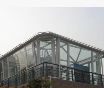厂家定制 欧式阳光房 平顶人字顶斜顶弧形采光房户外玻璃房