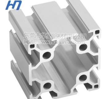 工业铝型材HJ6060 欧标 东莞铝型材及铝型材配件批发找华坚铝材