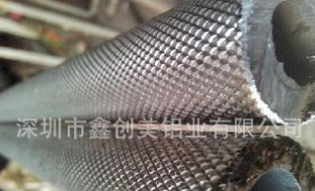 201不锈钢圆管 304不锈钢工业无缝管网纹滚花定制