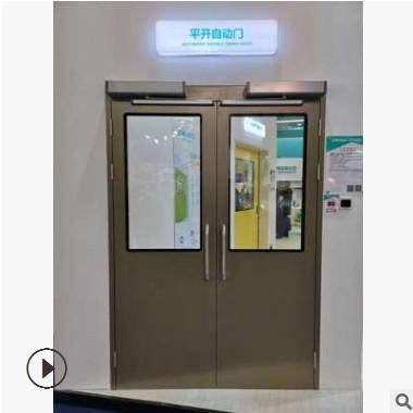 专业生产电动钢门电动平开钢门 厂家直销 质优价廉