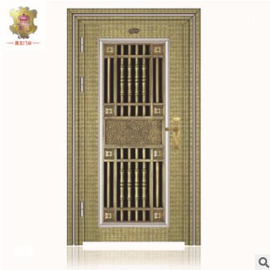 佛山厂家直销不锈钢防盗门,隔音不锈钢平开门,欧式风格,可定制