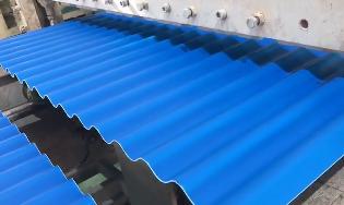 景塑屋顶隔热材料化工厂房屋面防腐瓦 雨棚塑胶塑料瓦片PVC波浪瓦