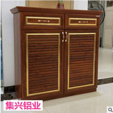厂家材料批发 全铝材料白橡木金橡木衣柜洗手台全铝整体橱柜