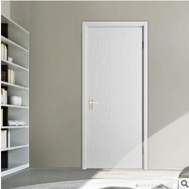 供应白色实木套装门 低价室内门 加工实木门 复合烤漆门批发定制