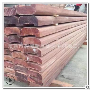 厂家直销山樟木防腐木 户外山樟木地板 印尼山樟木扶手