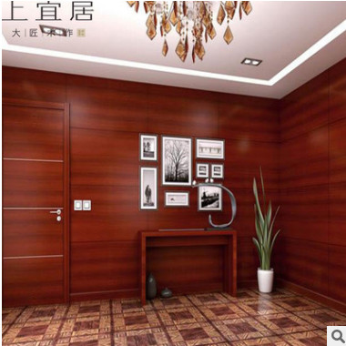 实木护墙板室内工程酒店挂墙板易固防腐木板护墙板定制厂家直销