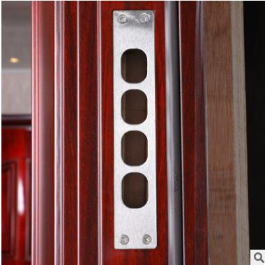 厂家批发 钢质防盗进户门 定制家用智能密码锁大门 防火安全门