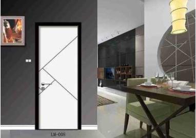 四川成都家美特门窗厂家直销铝木套装门 全铝套装门 实木门套装门