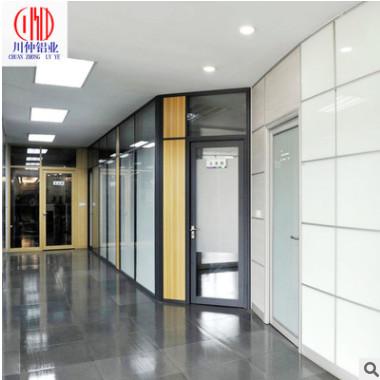 防火高隔断 83款双玻隔断 办公室玻璃高隔断钢化玻璃隔断量身定制
