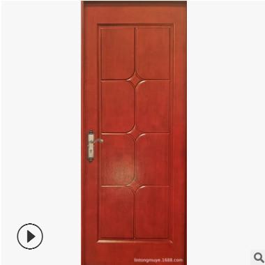 厂家直销实木复合烤漆门PVC免漆门强化门各种工程门