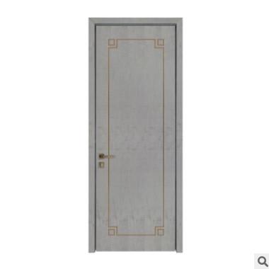 新款欧式实木复合烤漆门卧室门 平开整套门酒店工程定制实木门