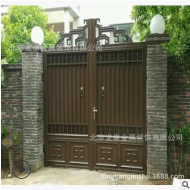 免费上门测量、设计,直销智能电动遥控别墅庭院门