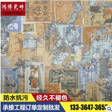 厂家直销500*500仿古砖 现代亚光古建筑装修内墙砖 瓷砖现货批发