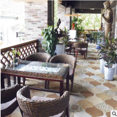 晶玛灯笼砖手工异形花砖厨房卫生间客厅背景瓷砖墙砖艺术砖