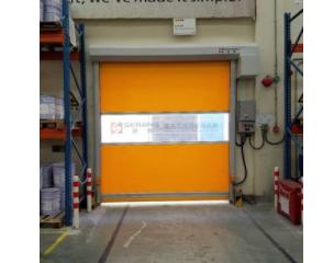 物流仓库工业门、快速软帘门