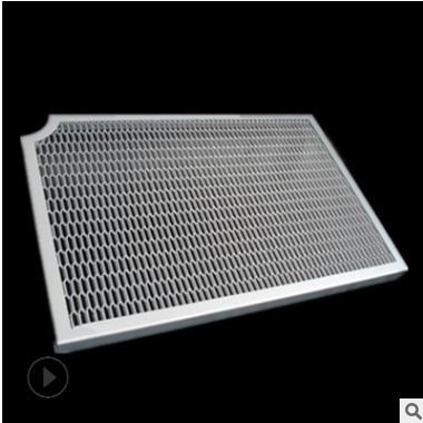 厂家直销天花装饰材料拉网铝单板 铝拉网板 拉网幕墙铝单板