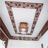 订做别墅吊顶花格 定制古建筑大门窗花仿古万字格制作客厅装饰品
