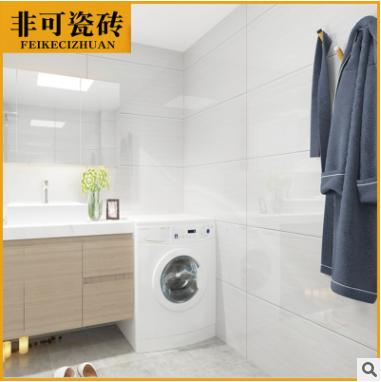 爵士白客厅墙砖400x800防滑耐磨卫生间厨房瓷砖背景墙砖简约现代