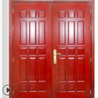 直供广东木质入户洗型防火门消防认证木质入户带线条防火门批发