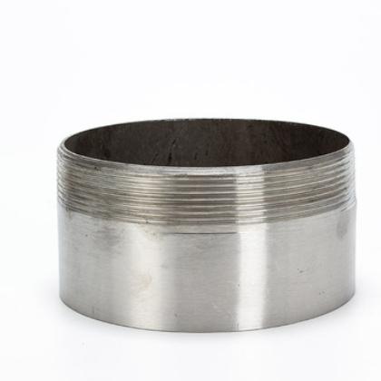304/201不锈钢管单头丝不锈钢焊接单头单管外丝不锈钢加长管接头