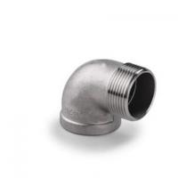 304不锈钢丝扣内外丝弯头内丝内螺纹90度直角弯头水暖接头配件