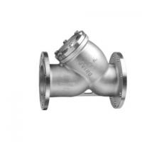 厂家批发304不锈钢法兰过滤器蒸汽Y型除污过滤器国标管道过滤器