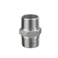 厂家批发批发304不锈钢六角丝直接 直通 对丝外螺纹接头外丝管件